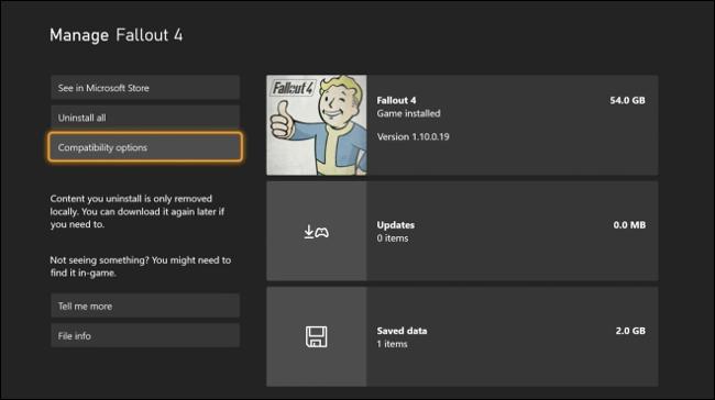 Gérer les extensions de jeu via le tableau de bord Xbox