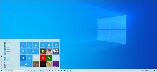 Nouveau thème clair et arrière-plan du bureau de Windows 10