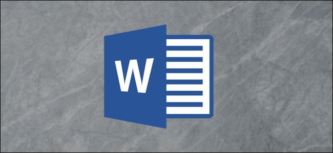 Le logo Microsoft Word.
