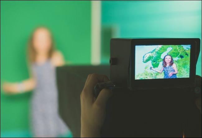 Filmer avec un écran vert
