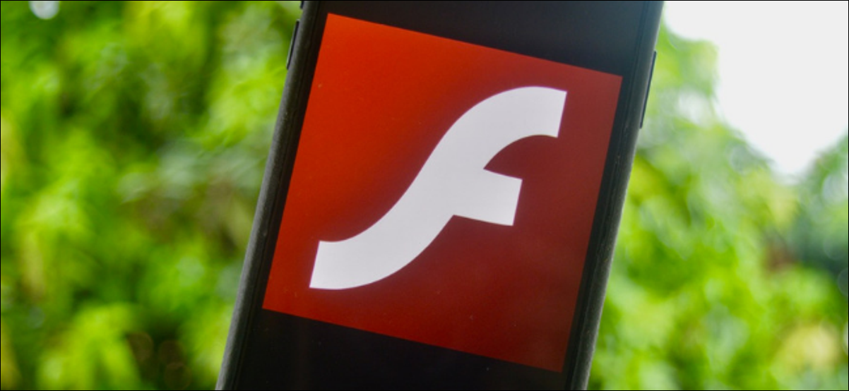 Icône Flash affichée sur l'écran d'un iPhone