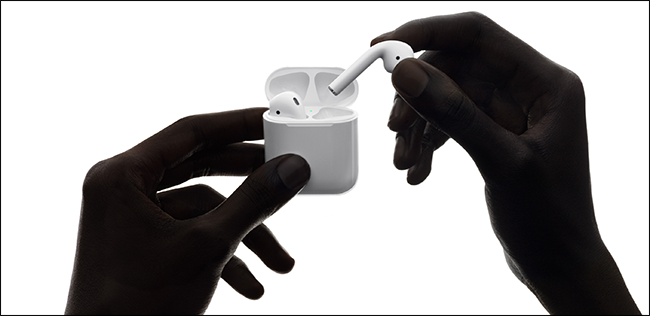 AirPods d'Apple.