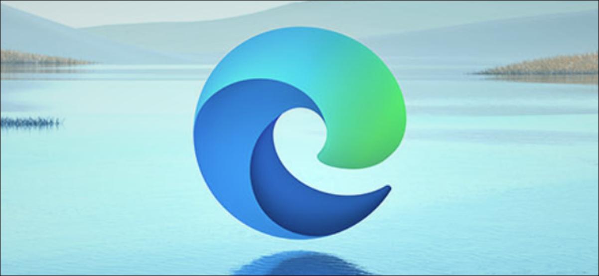 Nouveau logo de navigateur Edge basé sur Chromium de Microsoft.