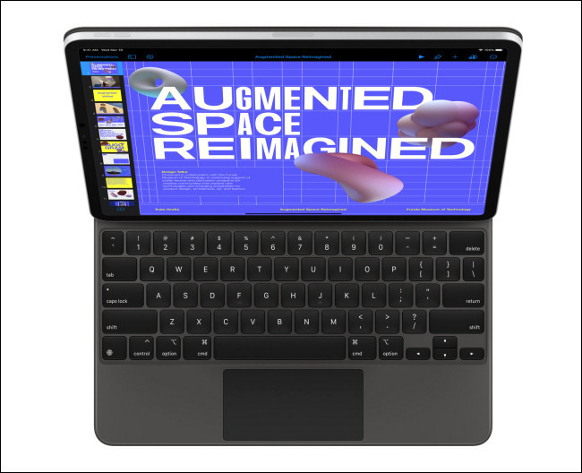 Apple iPad Pro avec Magic Keyboard
