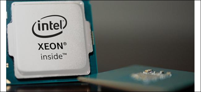 Package de processeur Intel Xeon.