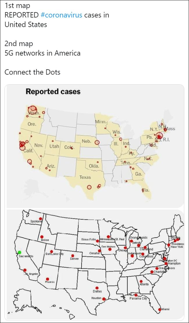 Cartes de coronavirus