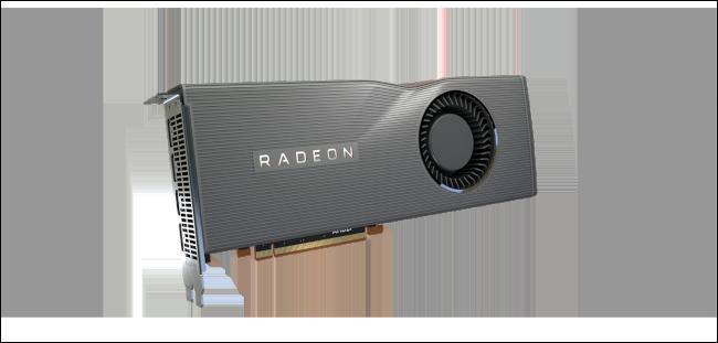 Un GPU AMD Radeon RX 5700 XT.